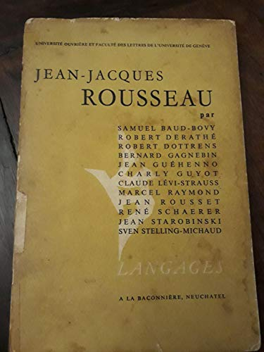Emile of Jean Jacques Rousseau: William Boyd
