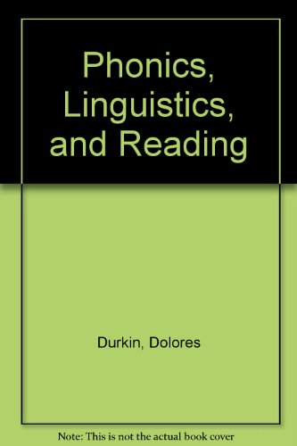 9780807712580: Phonics, Linguistics, and Reading