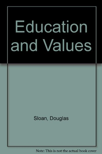 9780807725740: Education and Values