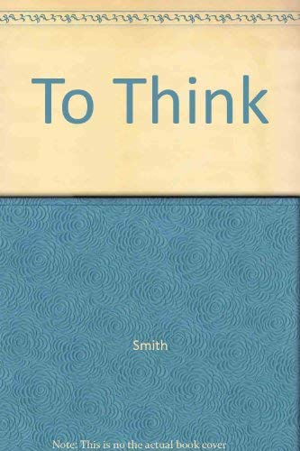 9780807730621: to think