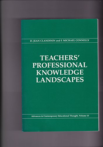 9780807734186: Teachers Professional Knowledge Landscapes (Advances in Contemporary Educational Thought Series) (Education and Psychology of the Gifted Series)