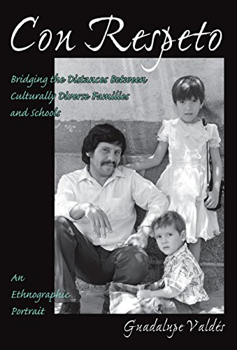 9780807735268: Con Respeto: Bridging the Distances Between Culturally Diverse Families and Schools: An Ethnographic Portrait