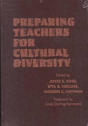9780807736067: Preparing Teachers for Cultural Diversity