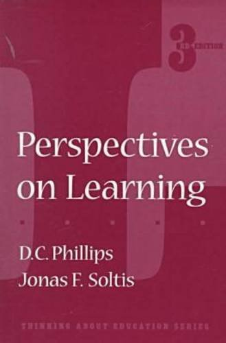 9780807737033: Perspectives on Learning (Thinking About Education Series)