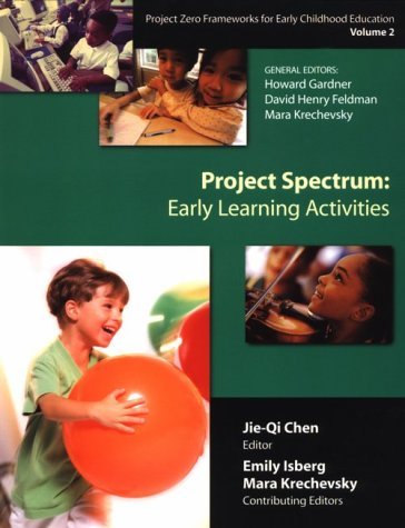 9780807737675: Project Spectrum: Learning Activities Guide: Project Spectrum: Learning Activities Guide Vol 2 (Project Zero Frameworks for Early Childhood Education, Vol 2)