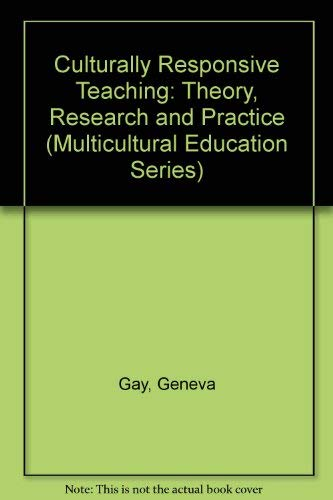 9780807739556: Culturally Responsive Teaching : Theory, Research, and Practice (Multicultural Education Series, No. 8)