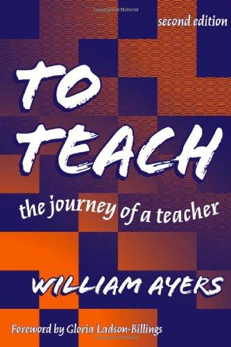 9780807739853: To Teach: The Journey of a Teacher