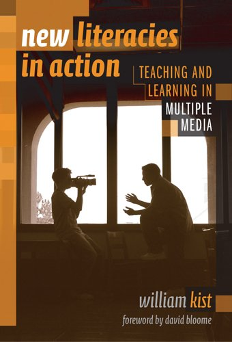 9780807745403: New Literacies In Action: Teaching And Learning In Multiple Media (Language and Literacy Series (Teachers College Pr)) (Language & Literacy Series)