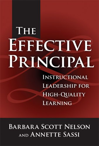 9780807746066: The Effective Principal: Instructional Leadership For High-Quality Learning