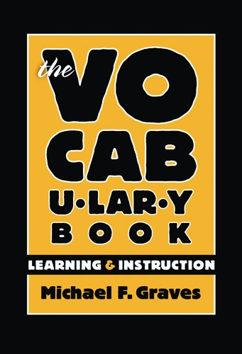 9780807746271: The Vocabulary Book: Learning & Instruction (Language and Literacy Series)