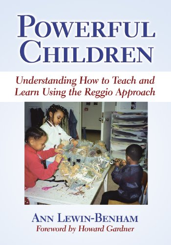 9780807748848: Powerful Children: Understanding How to Teach and Learn Using the Reggio Approach (Early Childhood Education Series (Teachers College Pr))