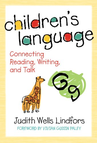 9780807748862: Children's Language: Connecting Reading, Writing, and Talk (Language and Literacy Series)