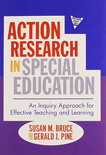 9780807750919: Action Research in Special Education: An Inquiry Approach for Effective Teaching and Learning (Practitioner Inquiry Series)