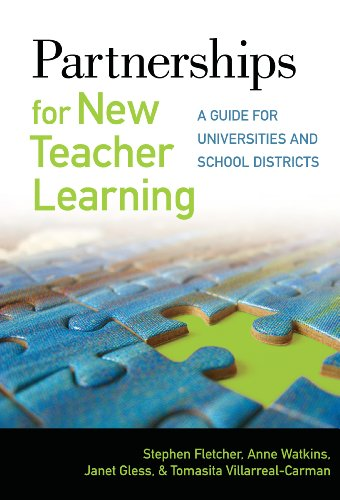 9780807751831: Partnerships for New Teacher Learning: A Guide for Universities and School Districts