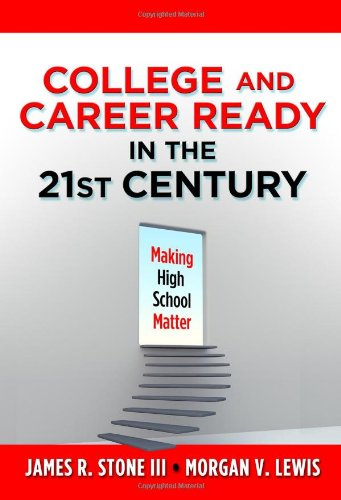 College and Career Ready in the 21st: James R. Stone