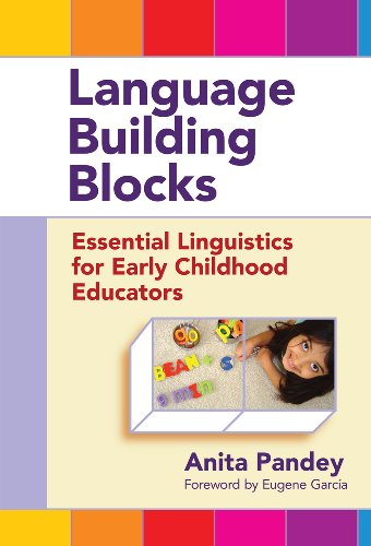 9780807753552: Language Building Blocks: Essential Linguistics for Early Childhood Educators (Early Childhood Education Series)