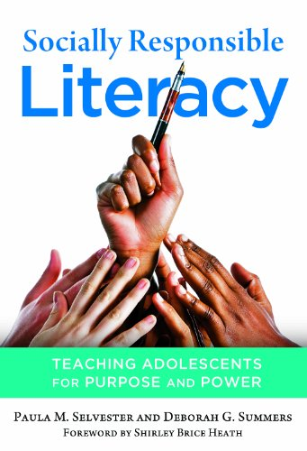 9780807753736: Socially Responsible Literacy: Teaching Adolescents for Purpose and Power (Language and Literacy Series)