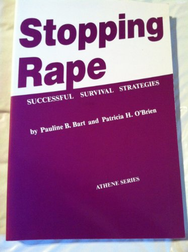 9780807762127: Stopping Rape: Successful Survival Strategies (Athene Series)