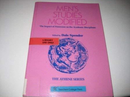 9780807762158: Men's Studies Modified: The Impact of Feminism on the Academic Disciplines (Athene)
