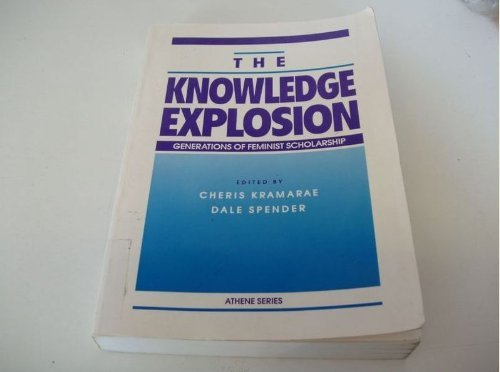 9780807762578: The Knowledge Explosion: Generations of Feminist Scholarship (Athene Series)