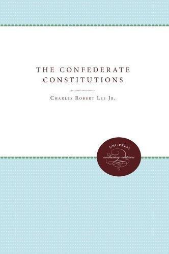 9780807808825: The Confederate Constitutions