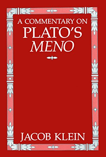 9780807809464: A Commentary on Plato's Meno