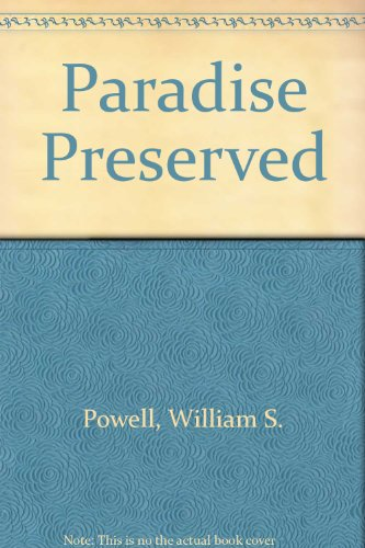 9780807809754: Paradise Preserved