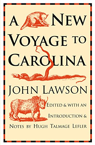 9780807810422: A New Voyage to Carolina