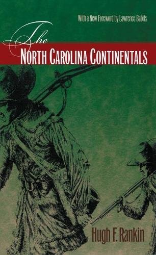 The North Carolina Continentals: RANKIN, HUGH F.