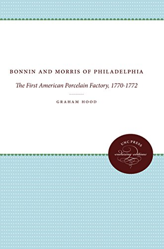BONNIN AND MORRIS OF PHILADELPHIA. The First American Porcelain Factory, 1770-1772.