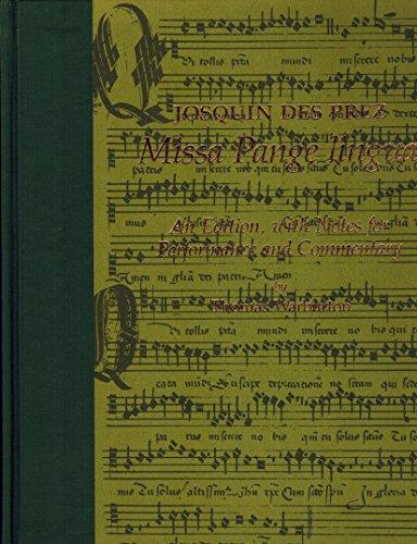 Josquin Des Prez's Missa Pange Lingua: Depres, Josquin