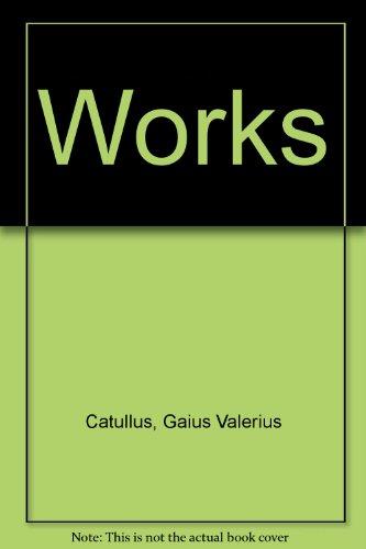 Catullus: A Critical Edition (English and Latin Edition): Catullus, Gaius Valerius, Thomson, D. F. ...