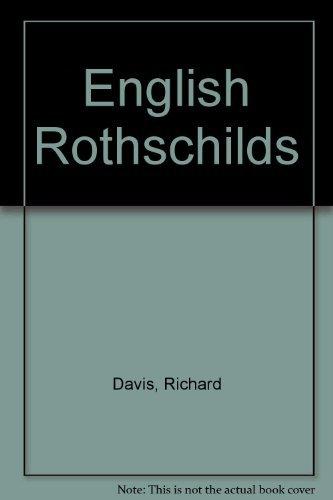 9780807815755: English Rothschilds