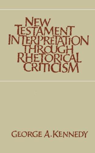 9780807816011: New Testament Interpretation Through Rhetorical Criticism (Studies in Religion)