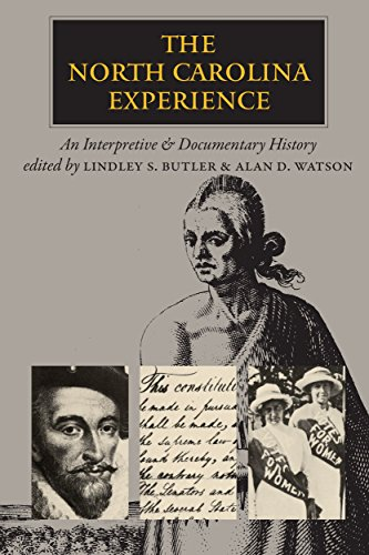 9780807816097: The North Carolina Experience: An Interpretive and Documentary History