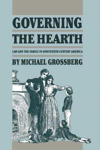 9780807816462: Governing the Hearth: Law and the Family in 19th Century America