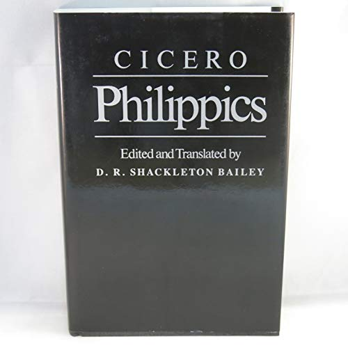 9780807816578: Cicero: Philippics