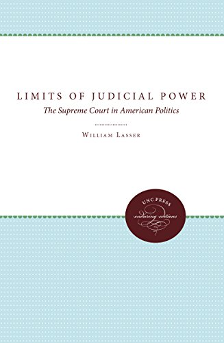 9780807818107: LIMITS OF JUDICIAL POWER: The Supreme Court in American Politics