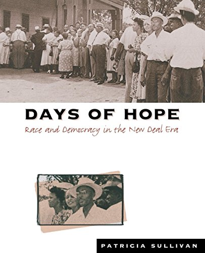 9780807822609: Days of Hope: Race and Democracy in the New Deal Era