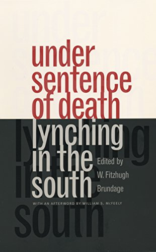 9780807823262: Under Sentence of Death: Lynching in the South