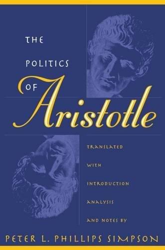 9780807823279: The Politics of Aristotle