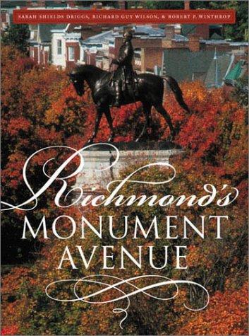 9780807826072: Richmond's Monument Avenue