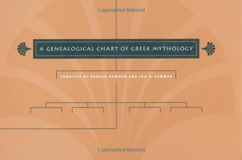 9780807827901: A Genealogical Chart of Greek Mythology