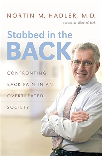 9780807833483: Stabbed in the Back: Confronting Back Pain in an Overtreated Society