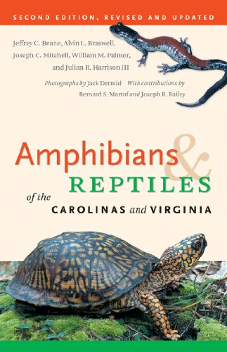 9780807833742: Amphibians and Reptiles of the Carolinas and Virginia, 2nd Ed