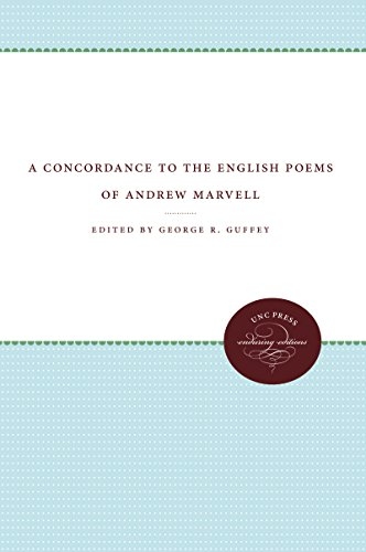 9780807835937: A Concordance to the English Poems of Andrew Marvell (Enduring Editions)