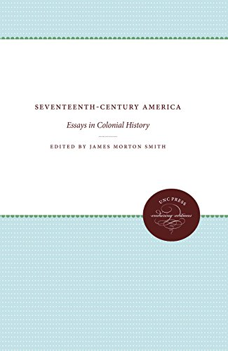 9780807840184: Seventeenth-Century America: Essays in Colonial History (Published by the Omohundro Institute of Early American History and Culture and the University of North Carolina Press)