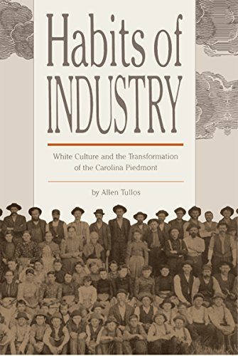 9780807842478: Habits of Industry: White Culture and the Transformation of the Carolina Piedmont (The Fred W. Morrison Series in Southern Studies)