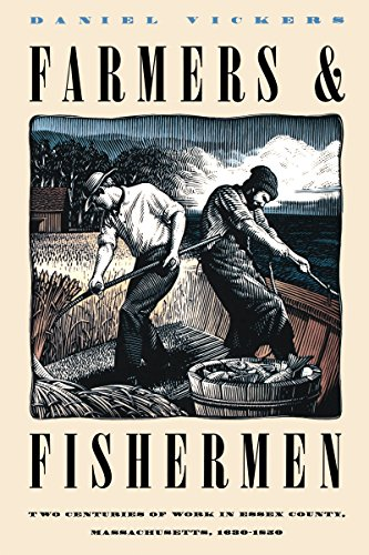 9780807844588: Farmers & Fishermen: Two Centuries of Work in Essex County, Massachusetts, 1630-1850