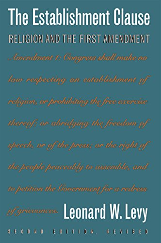 9780807844663: The Establishment Clause: Religion and the First Amendment